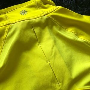 Athleta Half Front Zip Pullover